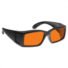 Retro Forensic Goggles - Orange