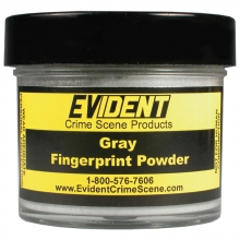 Gray Fingerprint Powder