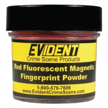 Red Fluorescent Magnetic Powder - 1 oz.