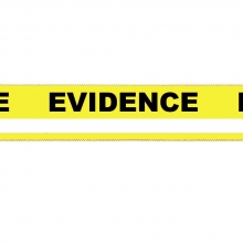 Yellow Evidence-PRO Security Tape w/ Writing Line - 24 pack