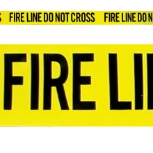 1 - Fire Line - Do Not Cross w/ box