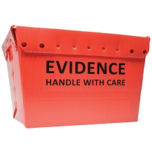 2 - Red Evidence Totes