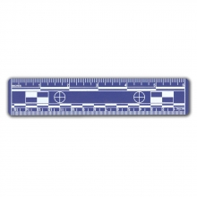 "10 - Blue 6"" Photo Scales"