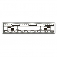 "10 - White 6"" Photo Scales"