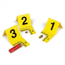 Cut-Out Photo Evidence Marker Numbers 61-80