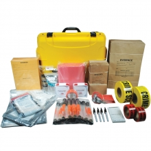 Evidence Packaging Deluxe Kit - Yellow Case