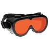 Orange Laser Laboratory Forensic Goggles